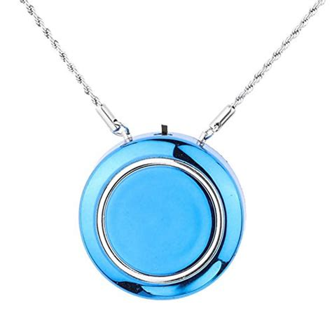 woolala personal wearable air purifier necklace mini portable air freshner ionizer negative ion
