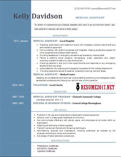 Assistant Resume Templates by Top 6 Assistant Resume Templates 2017