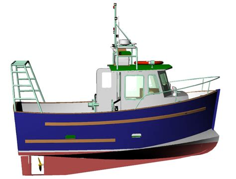 fishing boat designs 3 small trawlers mini trawler plans pictures to pin on pinterest pinsdaddy