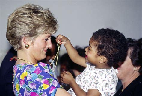 princess diana sons princess diana with kids pictures popsugar celebrity