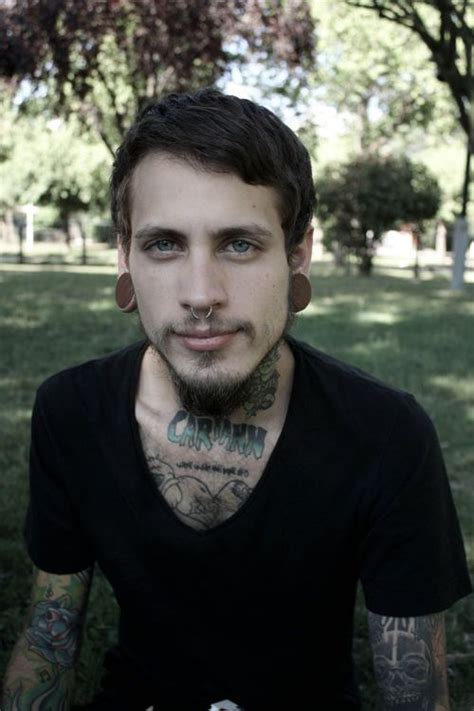guys with tattoos and piercings if you don t like guys with tats and piercings i