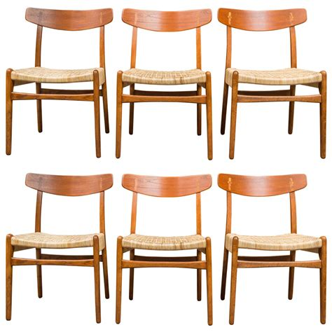 Wegner Dining Chair Hans J Wegner Dining Chairs At 1stdibs