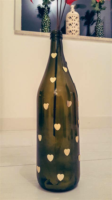 Wine Bottles As Vases by Diy How To Reuse Wine Bottles As Flower Vases Shrads
