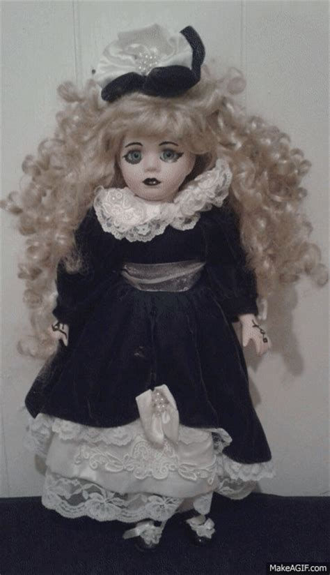 haunted doll gif possessed doll gif www pixshark images galleries