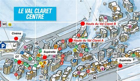 Location f3 7 personnes à Tignes le Val Claret (Les hauts du val claret)