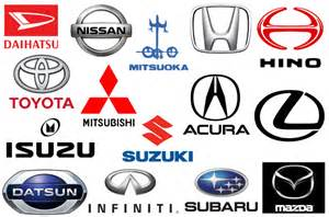 Japanese car brands companies and manufacturers car brand names com