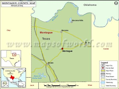 map of montague county texas montague county map map of montague county texas