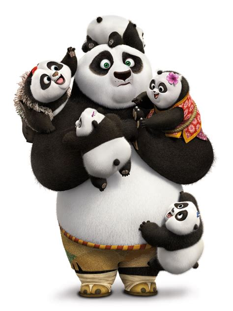 Kaos Kungfu Panda Kungfu Panda Po And Mr Ping By Crion kung fu panda 3 awesome edition on and dvd june 28