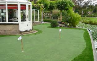 Putting Green In Backyard Artificial Turf By My View Golf