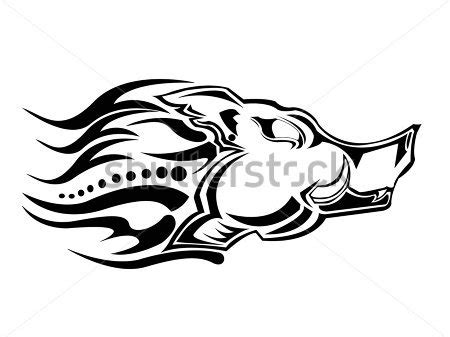 tribal boar tattoo 19 boar designs sles and ideas