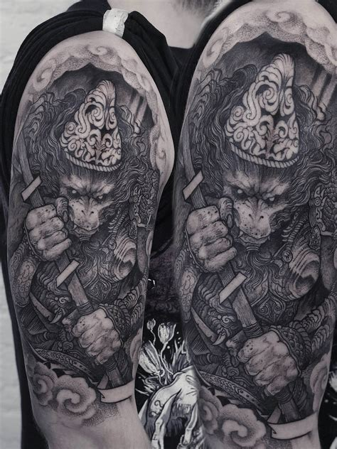 sinister visions blackwork tattoos by robert borbas