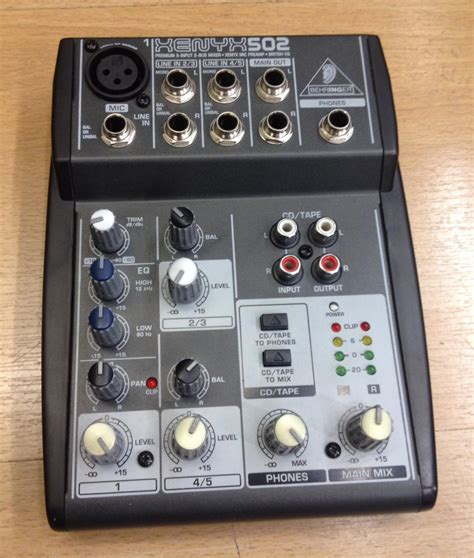 Mixer Xenyx 502 behringer xenyx 502 for sale at x electrical