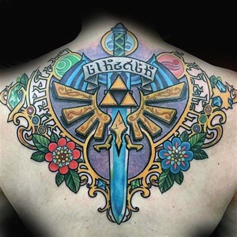 zelda tattoo ideas 90 tattoos for cool gamer ink design ideas