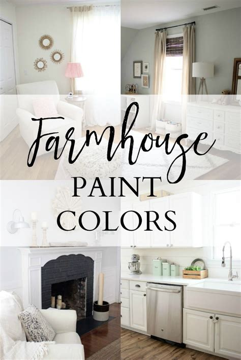 home our farmhouse paint colors mcbride