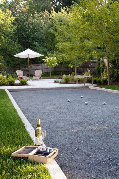 Backyard Bocce Court by Bocce Court Bocce Court