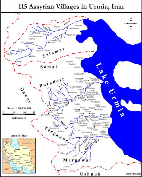 middle east map lake urmia who should rule the west of lake urmia history forum