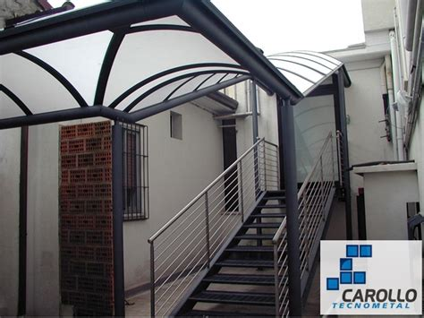 coperture tettoie esterne serramenti civili e industriali lucernari pensiline