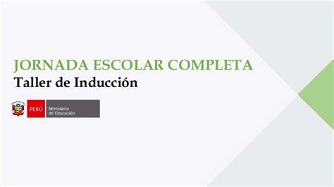 programacion de jornada escolar completa 2016 contrato cas 2016 en instituciones educativas con jornada