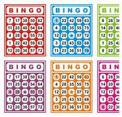 Free Vector Colorful Bingo Cards 26808  My