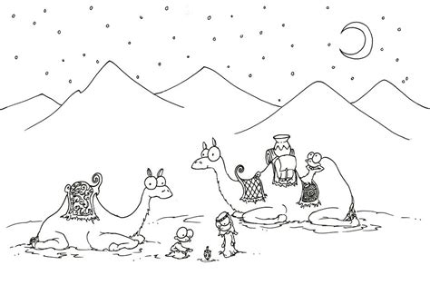 desert background coloring page desert coloring pages getcoloringpages com