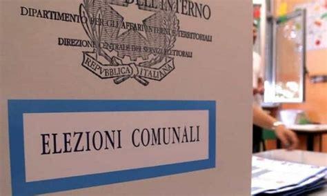 elezioni comunali interno elezioni comunali 2018 si vota il 10 giugno notizia oggi