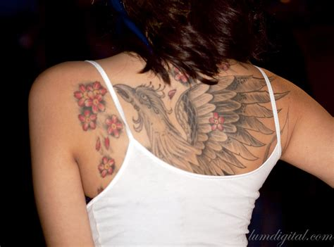 female upper back tattoo designs back ideas for yusrablog