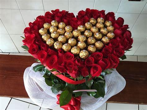 rosa con forma de coraz 243 n para colorear chocolate ferrero en forma de rosas con papel crepe coraz