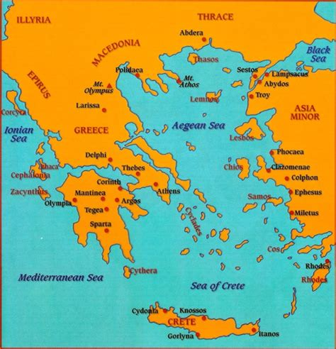 map of archaic greece map of ancient greece new calendar template site