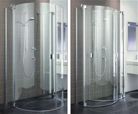 fold away shower enclosure via kermi m i n i m i z e pin