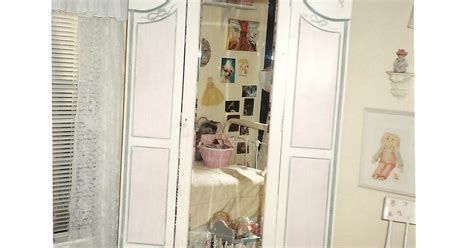 little girl armoire lynda bergman decorative artisan hand painted castle