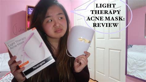 neutrogena light therapy mask review neutrogena light therapy mask review jenn nguyen youtube