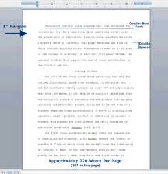 Research Paper Format format specifications for all paper masters papers