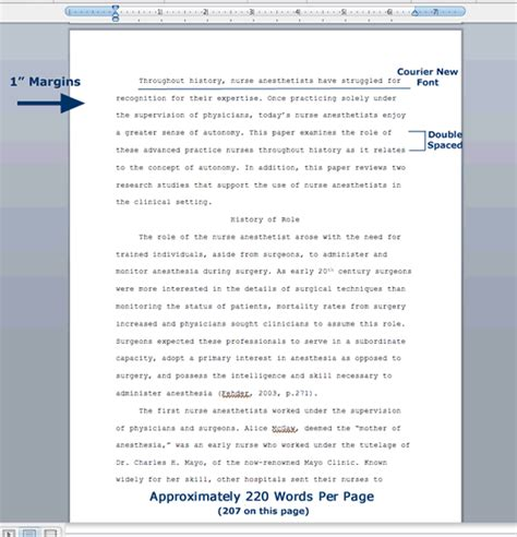 A Term Paper - sle of research paper format at paper masters