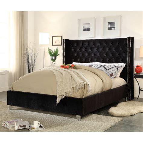 black tufted bed black tufted bed frame