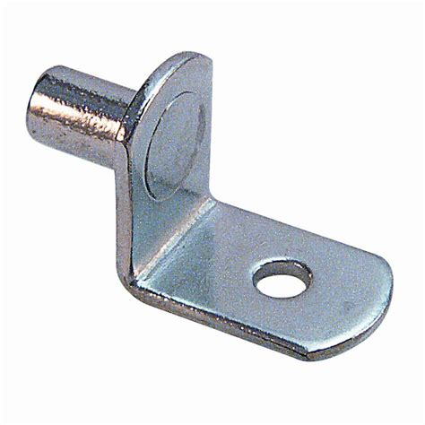 prime line 20 lb 1 4 in nickel plated shelf support pegs