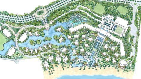 theme park zoning atlantis the palm edsa dubai master planning middle east
