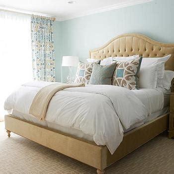 blue and beige bedroom beige and blue bedroom with greek key nightstand