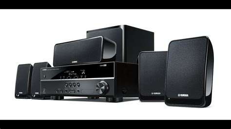 home cinema yamaha yht black unboxing review youtube
