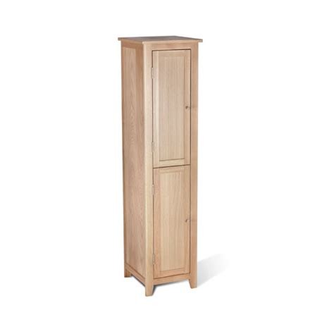 Pacific Cabinets by Pacific Bathroom Cabinet In Solid Oak With 2 Doors