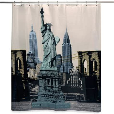 buy curtains nyc new york sights 70 quot x 72 quot shower curtain