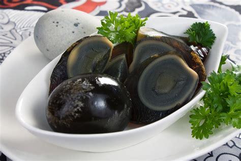 Membuat Telur Asin Hitam | telur hitam makanan enak asal china dan jepang yang bisa