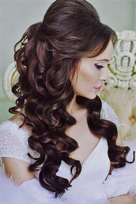 Wedding Hairstyles For Bangs by 39 Wedding Hairstyles With Bangs Magment