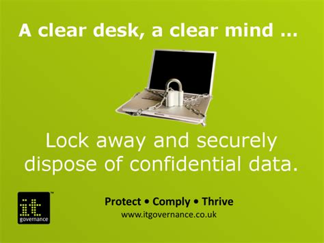 Clear Desk Policy by 8 Kickass Cyber Security Awareness Tips To Inspire Change