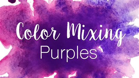 what colors mix to make purple color mixing series purples how to mix purples in