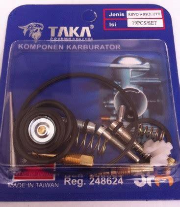 Carburetor Karburator Blade Revo Absolute repair kit karburator untuk motor honda jenis revo