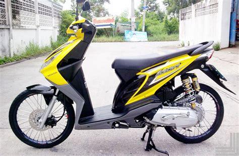 Gambar Modifikasi Motor Honda Beat by Motor Honda Beat Modifikasi Velg Jari Jari Terbaru Keren