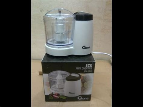 Oxone Eco Mini Chopper eco chopper ox 151 oxone penggiling mini elektrik bikin