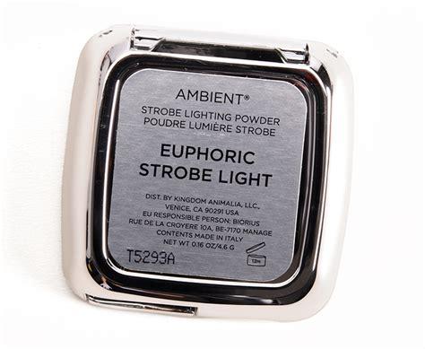 hourglass strobe lighting powder hourglass euphoric strobe light ambient strobe lighting