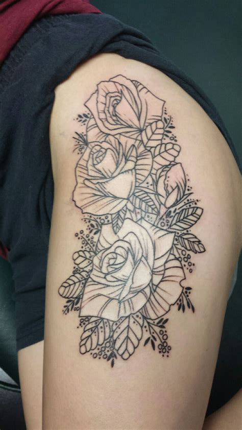 deja vu tattoo roses by markus at deja vu baton louisiana