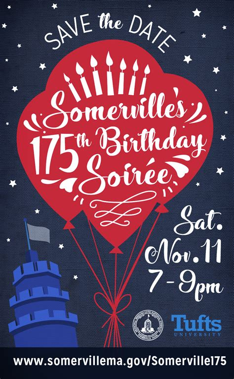 Somerville Ma Marriage Records Somerville S 175th Birthday Soir 233 E City Of Somerville